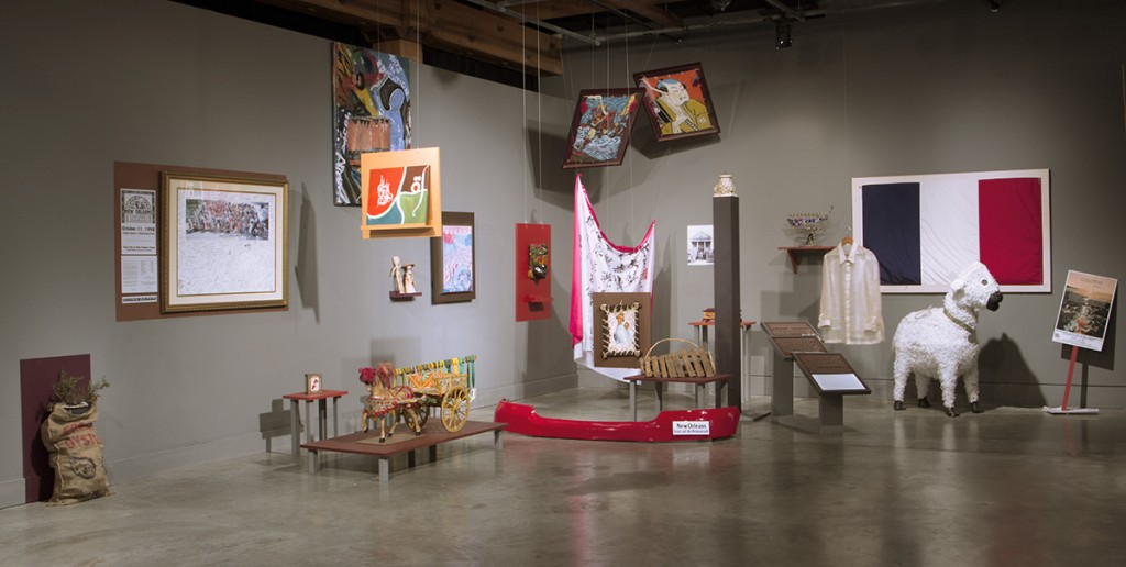Installation view, HERE/HOME, Contemporary Arts Center, New Orleans