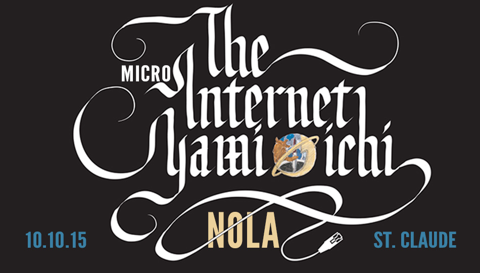Our Micro-Ichi New Orleans with Caroline Sinders, the 1st