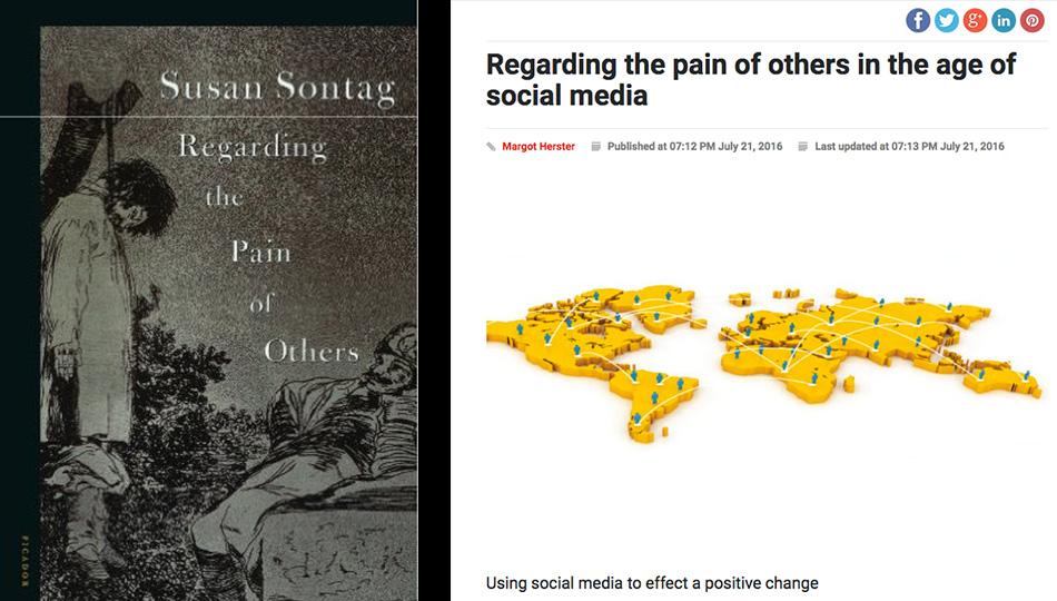 Regarding Pain Of Others >> Bureau Of Change Feb 15 Bureau S Newest Writer Hannah North